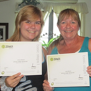 Zumba Fitness License Received