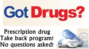 Prescription Drug Take Back September 29, 2012