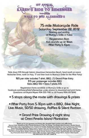 1st Annual Karen's Ride to Remember