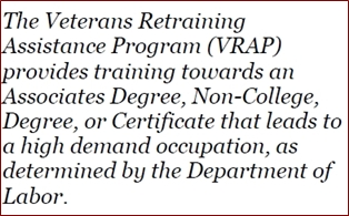 Veterans Retraining Assistance Program a Success
