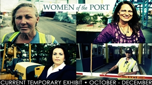 Women of the Port Exhibit Opens at Museum