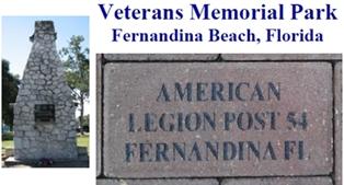 Veteran's Memorial Park in Fernandina Beach