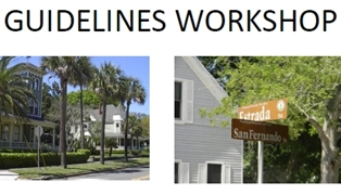 Updating Fernandina's Old Town and Downtown Design Guidelines