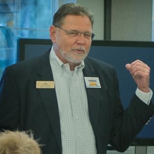 NCEDB Executive Director Addresses Sunrise Rotary