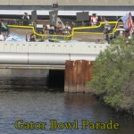 Gator Bowl Parade on WJXT TV 4
