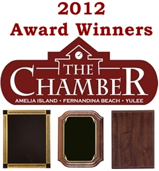 Winners from the 2012 Chamber Annual Awards
