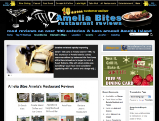 Amelia Bites Consumer driven Restaurant Review Website