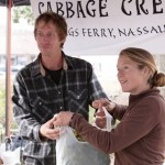 Shrimp, Granola, Chefs and Cabbage Creek Farms