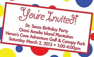 You Are Invited to Dr Seuss' Birthday Party