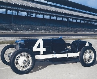 Indianapolis 500 racer