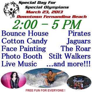 Special Olympics Family Fun Day in Fernandina