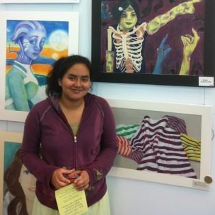 Gina Rodriguez, YHS, Nassau Art Show 2013