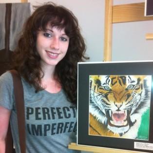 Kenzi Porter, FBHS, Nassau Art Show 2013