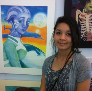 Maya Washington, YHS, Nassau Art Show 2013