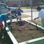 Sunrise Rotary Plants Community Vegetable Garden