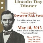 Nassau County Lincoln Day Dinner with Governor Rick Scott