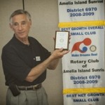 Boys and Girls Club Recognizes Rotary Amelia Island Sunrise