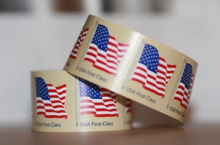 USPS roll of stamps ordered online