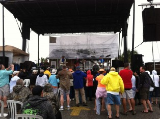 Pablo Cruise at rained out Amelia Island Shrimp Festival