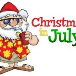 Christmas in July at the Farmers Market in Fernandina