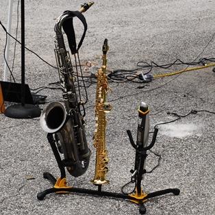 Saxophone Player Gabriel Arnold