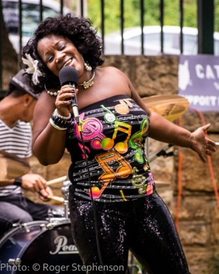 DieDra Ruff performs at Sandy Bottoms for Amelia Island Jazz Festival