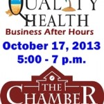 October 2013 Chamber of Commerce Events