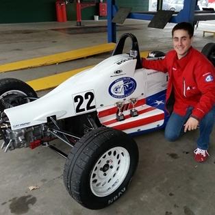 Austin Kimberly Brings 'The Amelia' Pride to British Racing