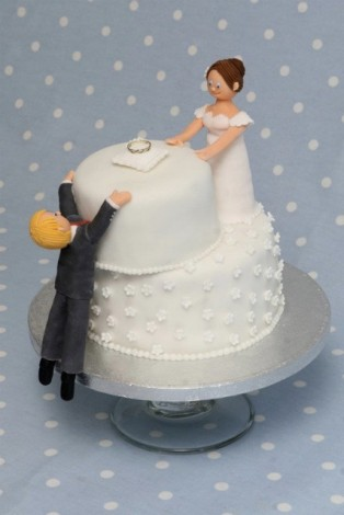 Who gets to cut up the divorce cake?