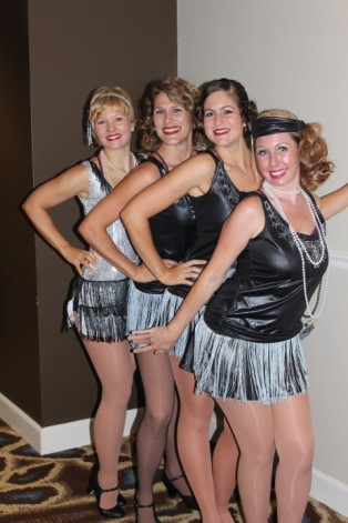 Members of the Amelia Musical Playhouse in Sentimental Journey