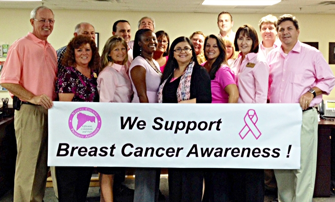 Property Appraiser Supports Breast Cancer