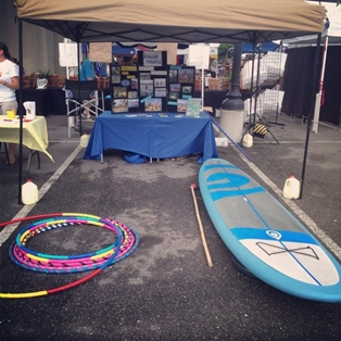 Wild caught Salmon and SUP Yoga come to Farmers Market