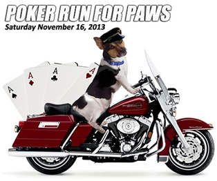2013 Poker Run for Paws