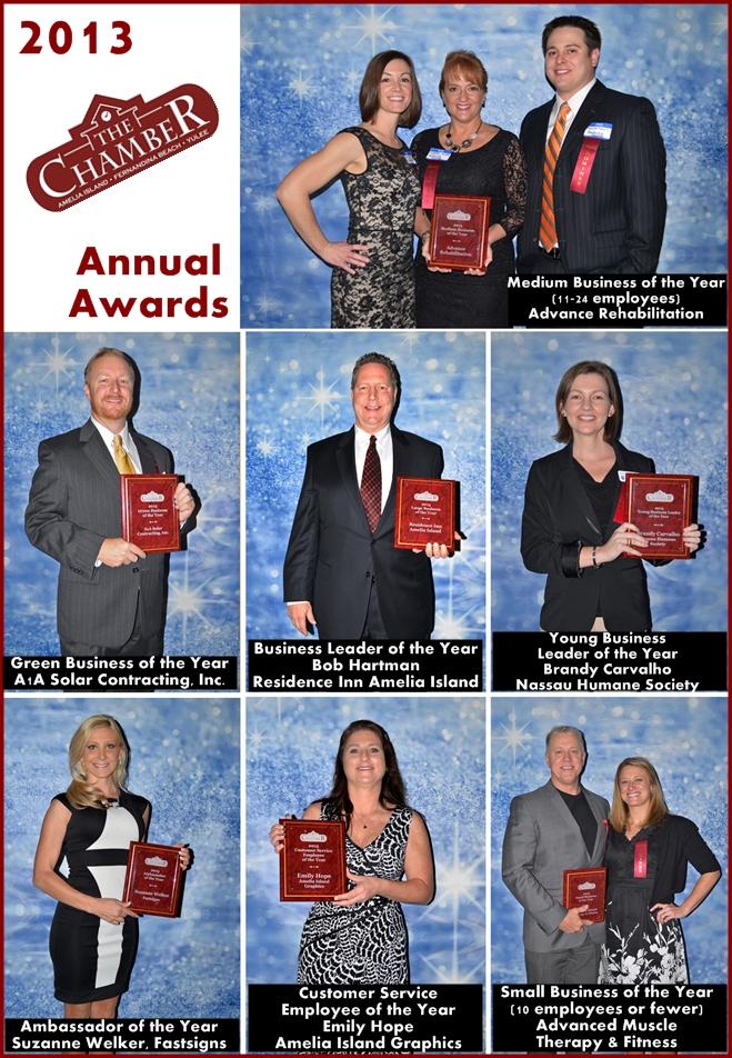 2013 Chamber Annual Award Winners