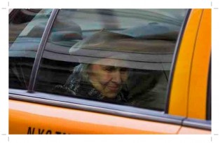 New York Cab driver takes old lady around town