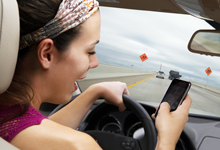Distracted Driving Raises Crash Risk