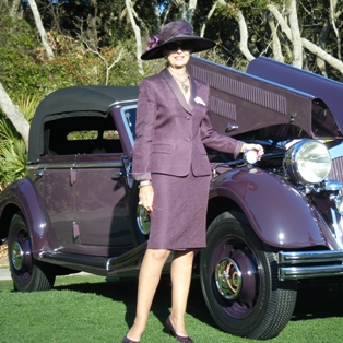 March 6, 2014 Activities at the Concours d'Elegance