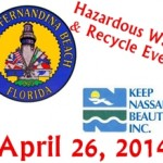 Spring 2014 City of Fernandina Recycling Event