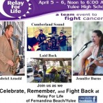 Relay for Life of Fernandina Beach Yulee is April 5, 2014