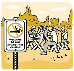 Stamp Out Smoking Tobacco-Free Living