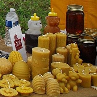 Honey and Syrup Make a Sweet Farmers Market on May 10, 2014