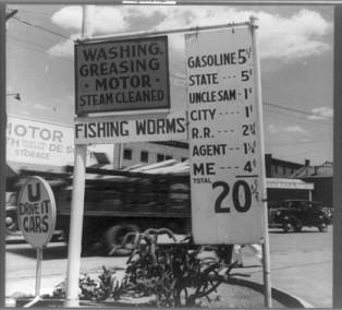 Gasoline 20cts