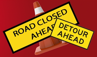 Road Closure and Detour at Yulee Railroad Tracks for Three Days