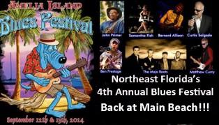 2014 Amelia Island Blues Festival Returns to Main Beach