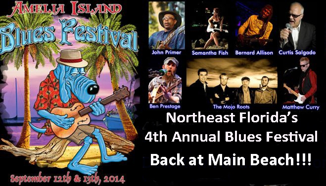 2014 Amelia Island Blues Festival Returns to Main Beach