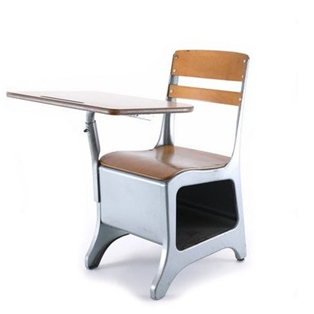 A Teacher and the Missing School Desks
