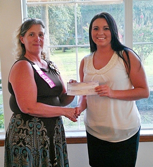 Ansley Howard Receives American Business Woman's Assocition's Scholarship