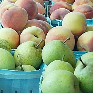 After School Snacks from the Farmers Market in Fernandina