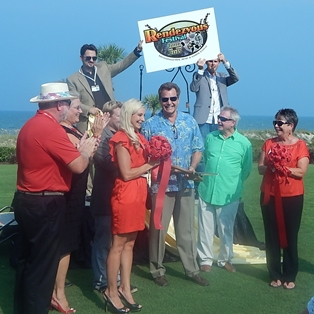 Warm Reception at Rendezvous Festival Ribbon Cutting