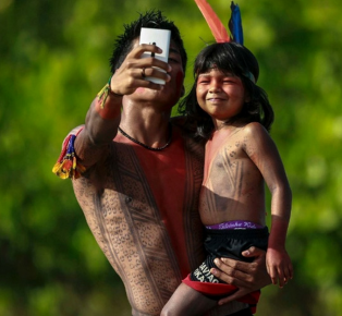 "Unstoppable Technology: A 'selfie"" in the Amazon"